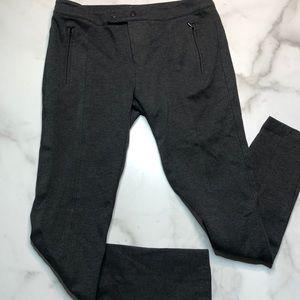Vince Modele Ponte Skinny Pants Charcoal Gray